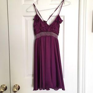 Forever 21 Babydoll Satin Dress